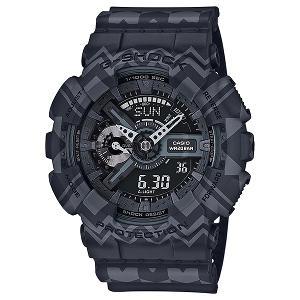 新品 即日発送 カシオ Gショック トライバル デザイン デジアナ クォーツ 時計 メンズ腕時計 GA-110TP-1AJF