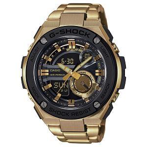 新品 即日発送 カシオ Gショック G-STEEL デジアナ クォーツ 時計 メンズ 腕時計 GST-210GD-1AJF