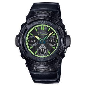 新品 即日発送可 カシオ Gショック ソーラー 電波 時計 メンズ 腕時計 AWG-M100SLY-1AJF