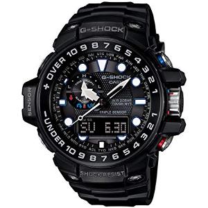 カシオ Gショック ガルフマスター ソーラー 電波 時計 メンズ 腕時計 GWN-1000B-1AJF