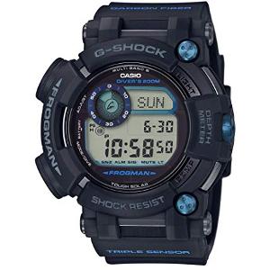 カシオ Gショック マスターオブG フロッグマン ソーラー 電波 時計 メンズ 腕時計 GWF-D1000B-1JF