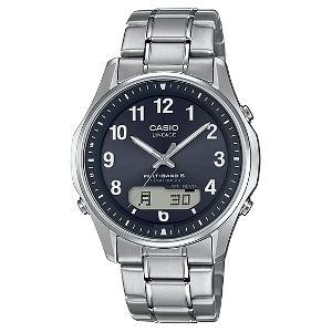 カシオ LINEAGE MULTI BAND6 デジアナ 時計 ソーラー 電波 時計 メンズ 腕時計 LCW-M100TSE-1A2JF