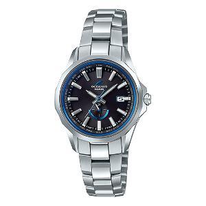 カシオ オシアナス Manta MULTI BAND6 ソーラー 電波 時計 レディース 腕時計 OCW-S350-1AJF