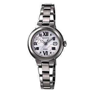 新品 即日発送可 カシオ シーン ソーラー 電波 時計 レディース 腕時計 SHW-1508B-8AJF