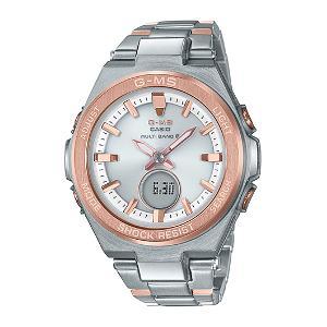 カシオ BABY-G G-MS MULTI BAND 6 ソーラー 電波 時計 レディース 腕時計 MSG-W200SG-4AJF