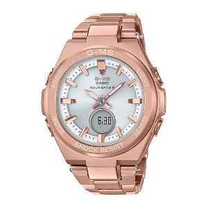 カシオ BABY-G G-MS MULTI BAND 6 ソーラー 電波 時計 レディース 腕時計 MSG-W200DG-4AJF