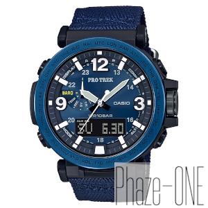 カシオ PROTREK NAVY BLUE SERIES ソーラー 時計 メンズ 腕時計 PRG-600YB-2JF