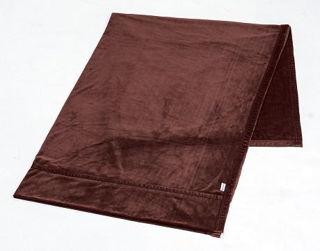 【数量限定】星のやすらぎ ストレッチ掛け毛布 ワインブラウン(ダブル)
