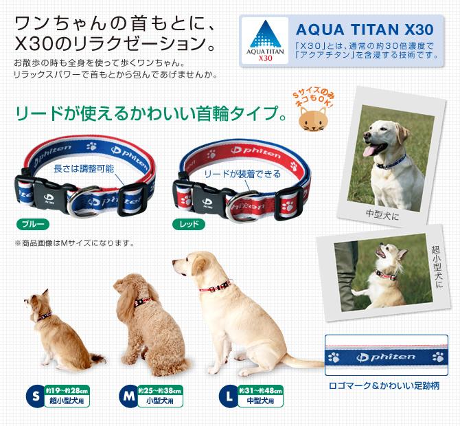 供φ十寵物使用的Aqua鈦彩色X30超小型狗事情(S尺寸)