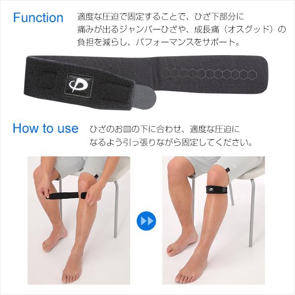φ十膝盖预先固定防护带