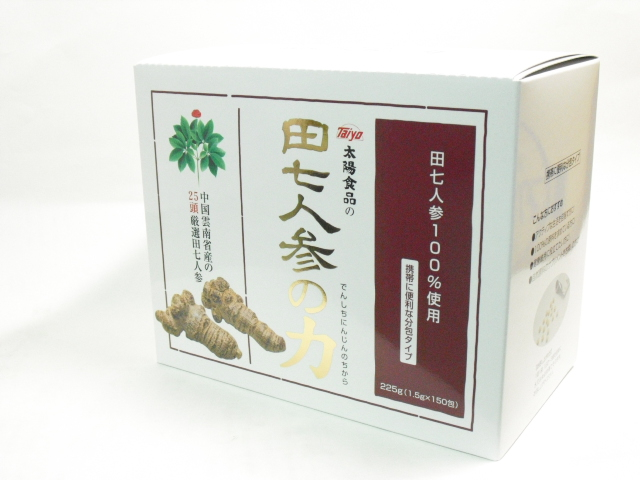 田七人参の力1.5g×150袋×12個