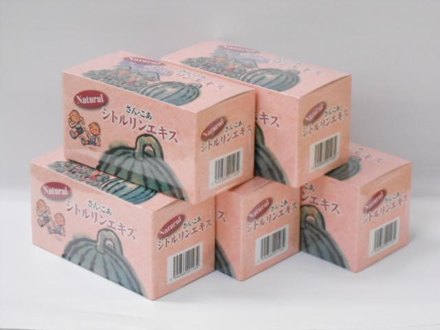 西瓜糖 ナチュラルシトルリンエキス4g×30包×5個【smtb-k】【w1】