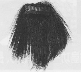簡単かつらクリップヘアーサイズLカラー:自然.中間.黒.赤め.やや赤め.白髪5%.白髪10%/《メール便不可》
