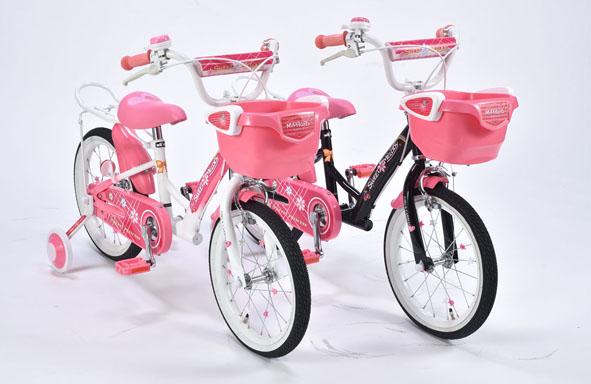 子供用自転車16インチ MD-12 自転車 子供用 補助輪付き シティサイクル (代引き不可) 2色展開