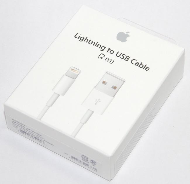 アップル純正 Apple Lightning - USBケーブル(2m) MD819AM/A 国内純正品  iPhone/iPad/iPod対応 あす楽対応
