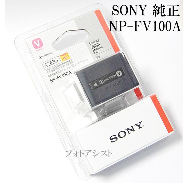 ソニー SONY リチャージャブルバッテリーパック NP-FV100A 純正品 ハンディカム「V・H・Pシリーズ」対応 パッケージ入り  あす楽対応