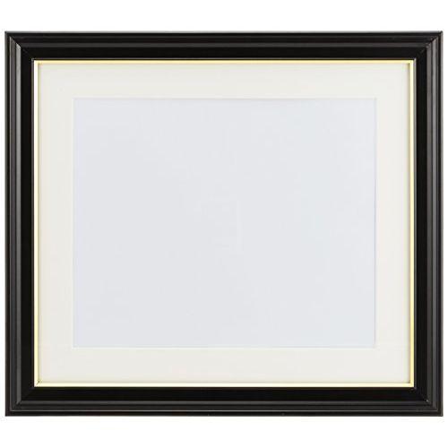 あふれる気品と風格 肖像額縁が映える漆黒の正統派フレーム 4切サイズ 輸入 FUJICOLOR フジカラー 額縁 大好評です 木製 ブラック 肖像額 写真四切 写真額 4切