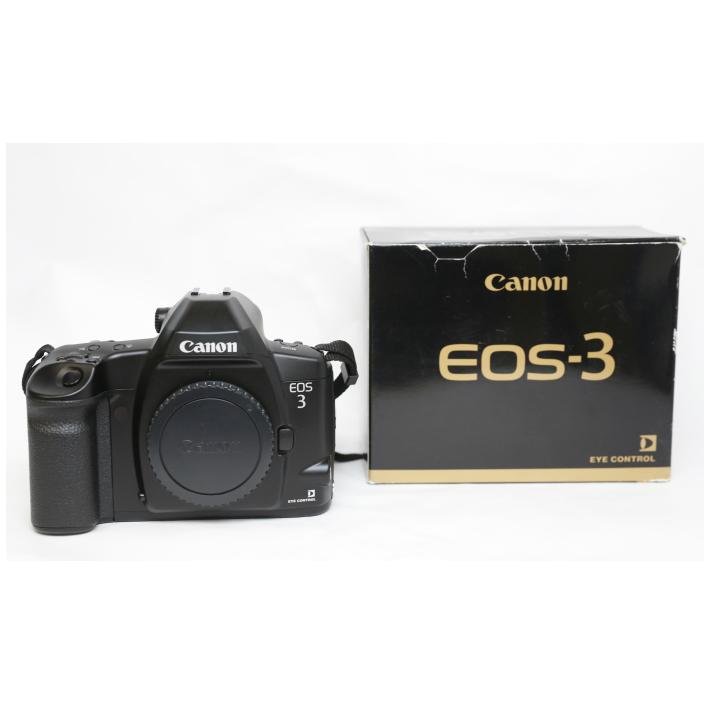 カメラ canon キャノン EOS-3 フィルムカメラ ボディ 箱付き