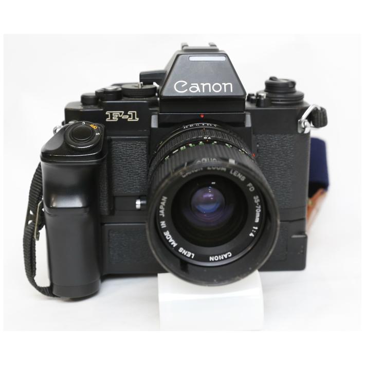 カメラ Canon キャノン New F-1 フィルムカメラ FD35-70 ワインダーFN付