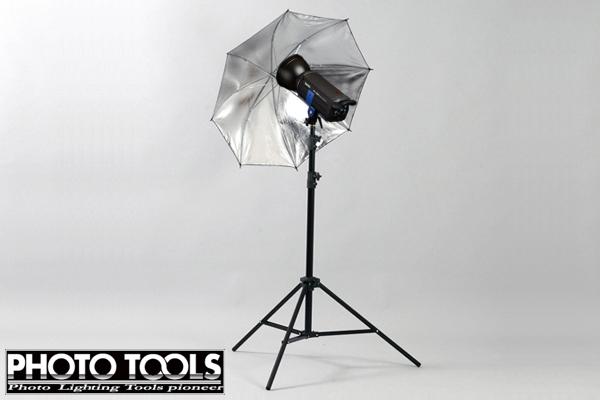 送料無料 商品撮影 ストロボ モノブロック MS-PRO 400W スタンド + 2 アンブレラ セット p051