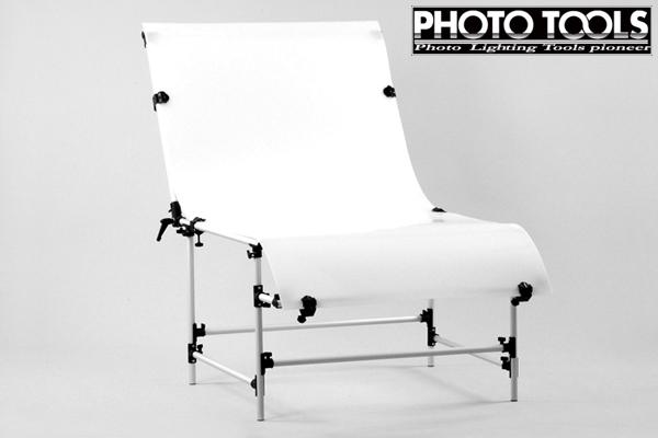 撮影台 大  ●フラッシュ 撮影ライト スタジオ照明 p086