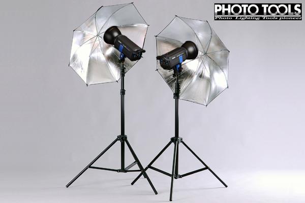 送料無料 ストロボ MS-PRO 1000 アンブレラ 2灯セット  ●撮影機材 照明 商品撮影 p103