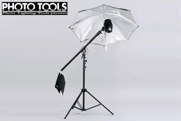 モノブロック TTC-180 ブーム アンブレラセット  ●撮影セット 撮影キット p233