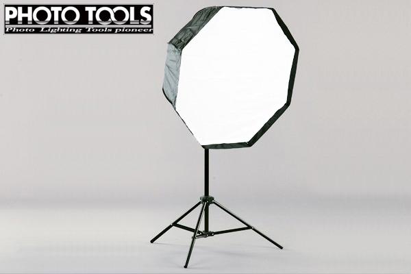 モノブロック TTC-180 アンブレラ型 80cm オクタゴン ソフトボックスセット  ●撮影機材 照明 商品撮影 p292