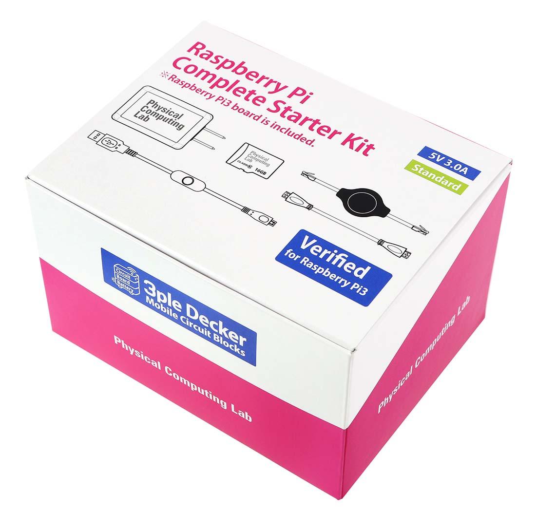 Raspberry Pi3コンプリートスターターキット(Standard 32GB)