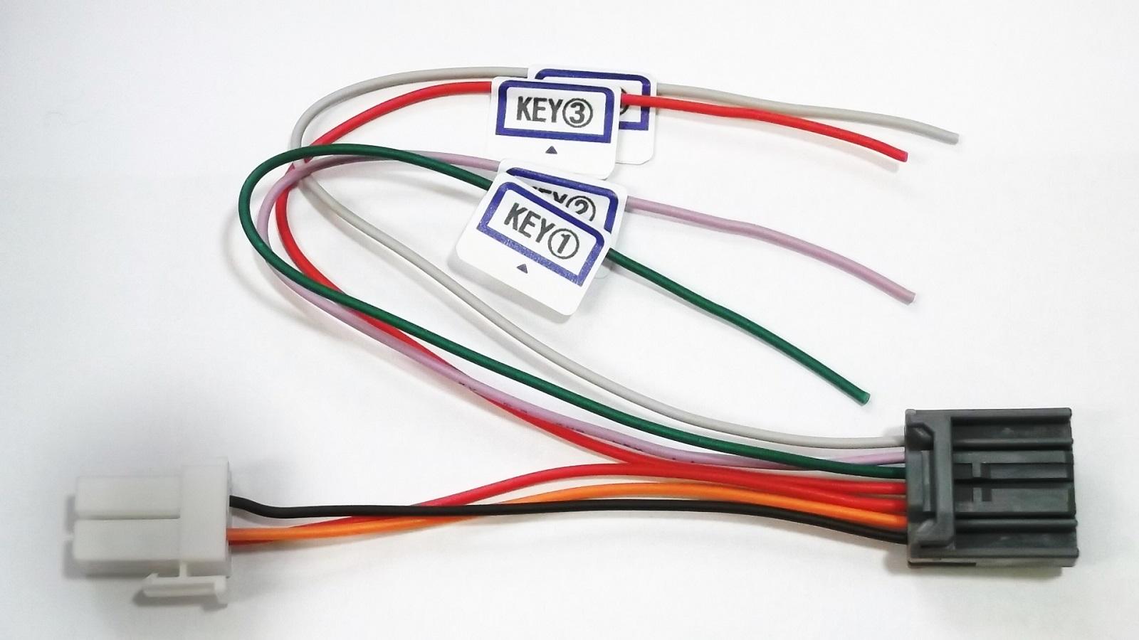 大人気! KSR-01-7P ケンウッド MDV-L504W メーカー直売 互換 KNA-300EX ステアリングリモコン接続ケーブル