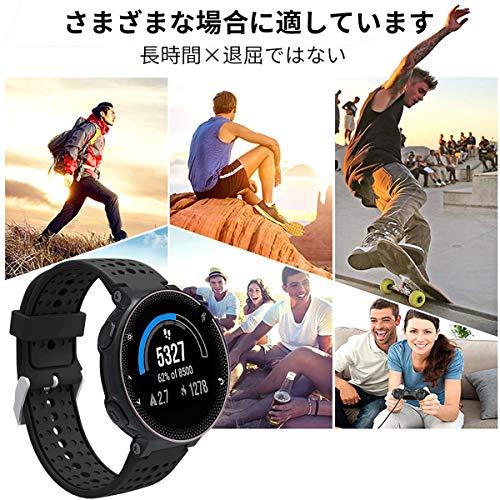 GARMIN Forerunner 220J 230J 235J 620J 商品追加値下げ在庫復活 630J 735XTJ 交換ベルト Approach 格安 価格でご提供いたします ガーミン 高級 シリコーン製腕時計ストラップ ベルト S20