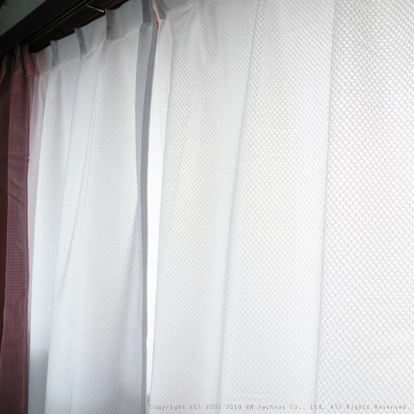 防音レースカーテン「トル」イージーオーダー幅131~150cm丈201~240cm【送料込】(北海道・沖縄・離島除く)