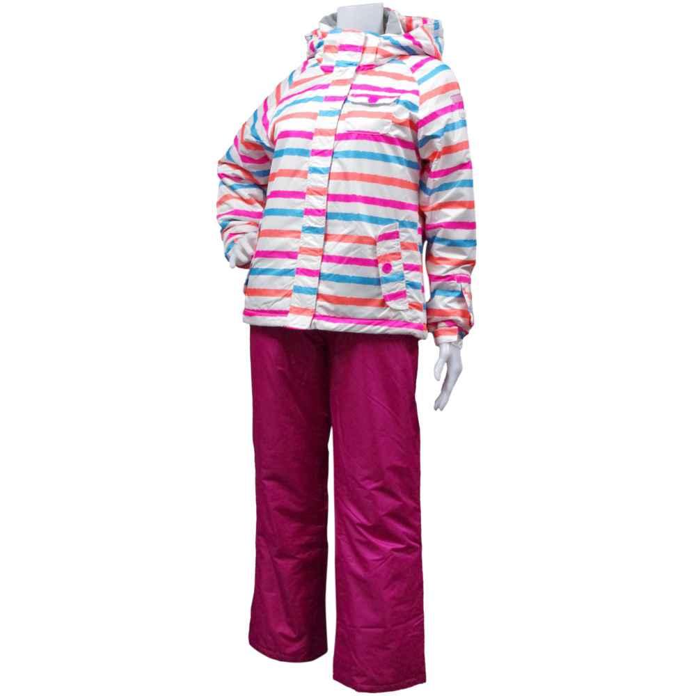 スキーウェア スキーウェア 女の子 ジュニア ガールズ ジュニア オンヨネスキーウエア (ホワイト/ピンク 140cm 150cm 160cm) ガールズ ジュニア スキーウェア 全2色