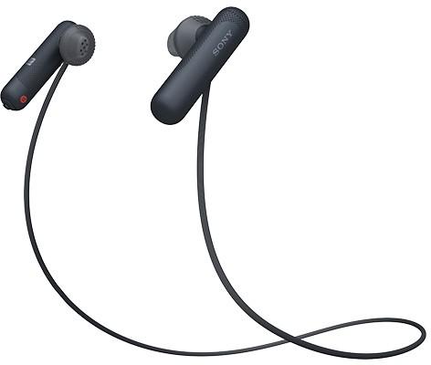 ※必ず納期をご確認ください SONY 年末年始大決算 ワイヤレスステレオヘッドセット WI-SP500 トレンド B BQ ソニー 送料無料 ブラック smtb-u