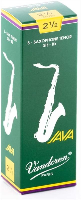 Vandoren リード JAVA T.Sax バンドレン 税込3980円以上のお買い上げで送料無料 人気上昇中 即納送料無料 2.5 バンドーレン