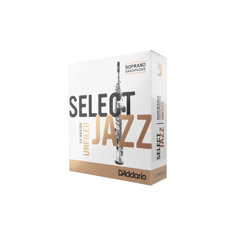 在庫僅少 次回入荷未定 ソプラノサックス用リード SELECT JAZZ マーケット UNFILED リード 4H 年間定番 S.Sax ダダリオ 税込3980円以上のお買い上げで送料無料 10枚入り 0046716202086