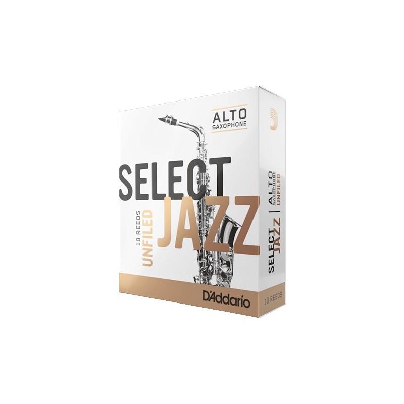 在庫僅少 次回入荷未定 アルトサックス用リード SELECT JAZZ UNFILED リード 輸入 ダダリオ smtb-u 0046716202123 A.Sax 10枚入り 人気の定番 2H 送料無料