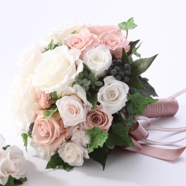 【送料無料】【20%OFF!】ブーケ ピンク花 プリザーブドフラワー ギフト プレゼント 贈り物 お礼 誕生日 記念日 母の日 入社 昇進 退職祝い