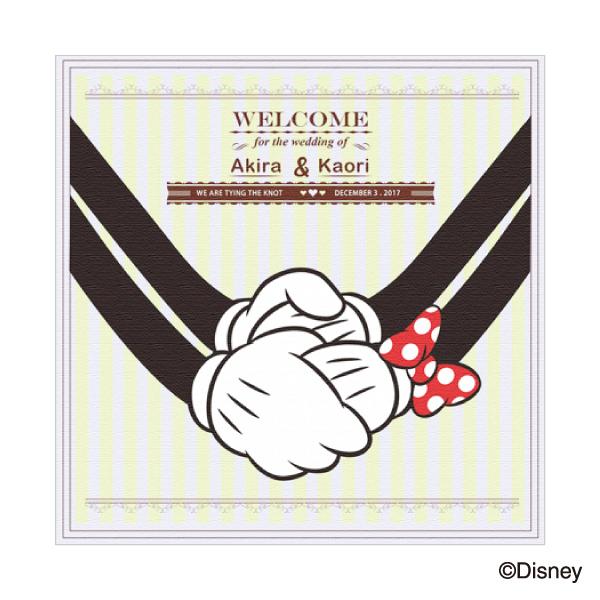 """【送料無料】ウェルカムボード""""ディズニー"""" MM-8/いつまでも手をつないでプレゼント 結婚式 ギフト お祝い 披露宴 ウェディング ウエルカムスペース ディズニー"""