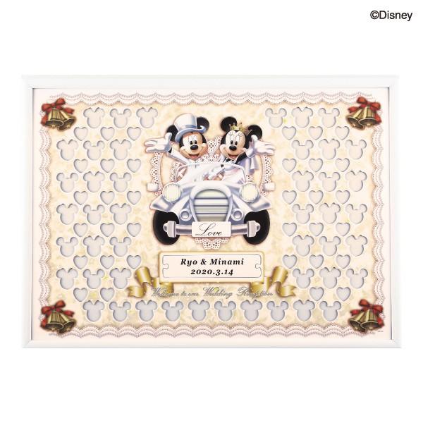 【送料無料】【30%OFF!】ディズニー メッセージパズル ウェルカムボード80ピース クラシックカープレゼント 結婚式 ギフト お祝い 披露宴 ウェディング ウエルカムボード ディズニー