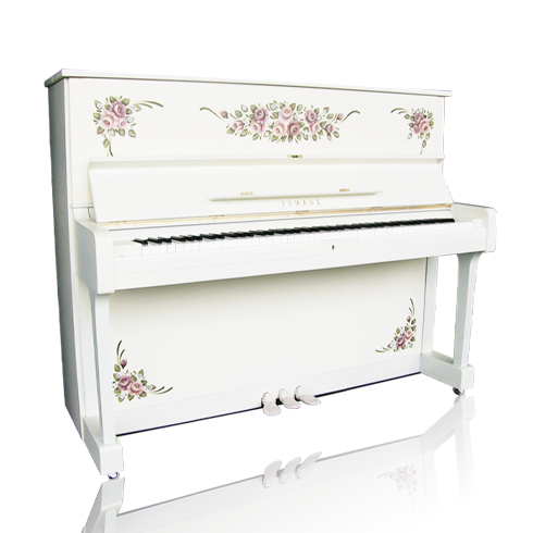 激安店舗 ピンクローズ・Pink (白いピアノ (白いピアノ アップライト) アップライト), 雑貨屋マイスター:9658d08e --- blablagames.net