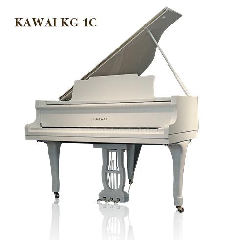 KAWAI KG-1C_ホワイトグランドピアノ白【クレア・Claire】(スノーホワイト・艶出し)椅子・インシュレーター付き KAWAI♪, リサイクル通販 スリフティ:cba38153 --- sunward.msk.ru
