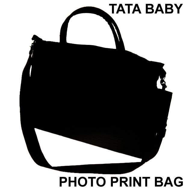 【タタベイビー TATABABY】PHOTO PRINT BAG(Big)
