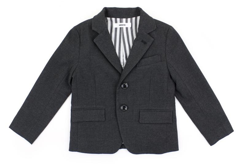 【ジェネレーター GENERATOR スーツ 子供服 男の子】2Bジャケット/CHグレー(110)052112