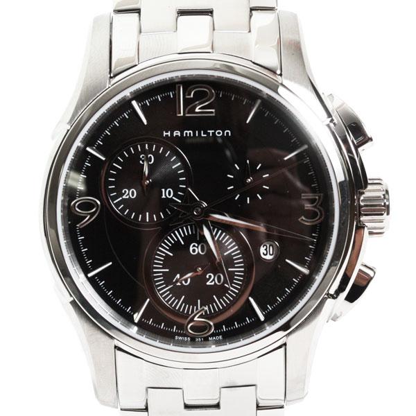 【送料無料】HAMILTON ハミルトン 腕時計 JAZZMASTER CHRONO ジャズマスター クロノ メンズ クロノグラフ H32612135