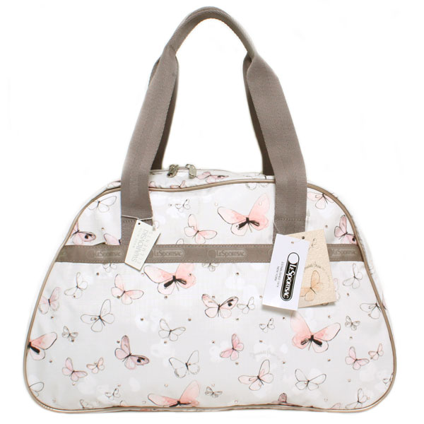 LeSportsac lesportsac Lady's handbag SW SIDNEY OVERNIGHTER SW Sydney over night game 8192-P403 RENAISSANCE renaissance butterfly pattern nylon