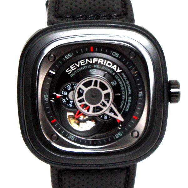 【送料無料】【新品】【正規品】SEVENFRIDAY セブンフライデー メンズ 腕時計 SFP3/01 ラック×レッド