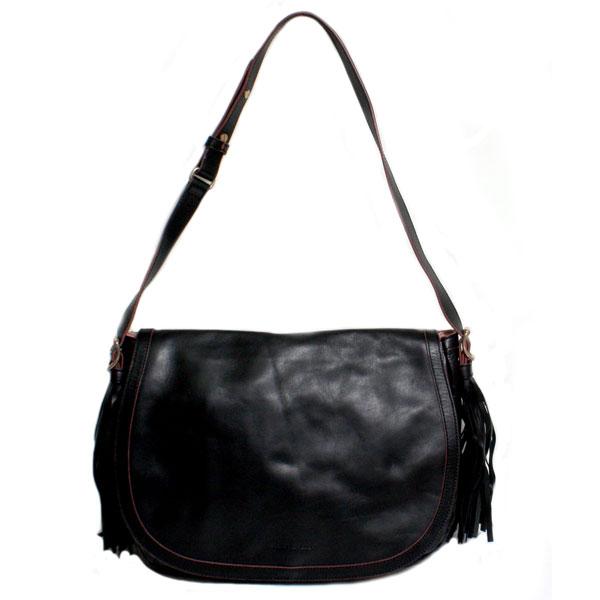 0a246d2832 SEE BY CHLOE see by Chloe ladies shoulder bag TWIN TASSELS tassel 9S7330  N177 001 BLACK black