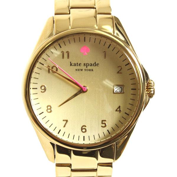 【新品】 kate spade ケイトスペード 腕時計 SEAPORT GRAND 1YRU0030 711 ゴールド ピンク レディース