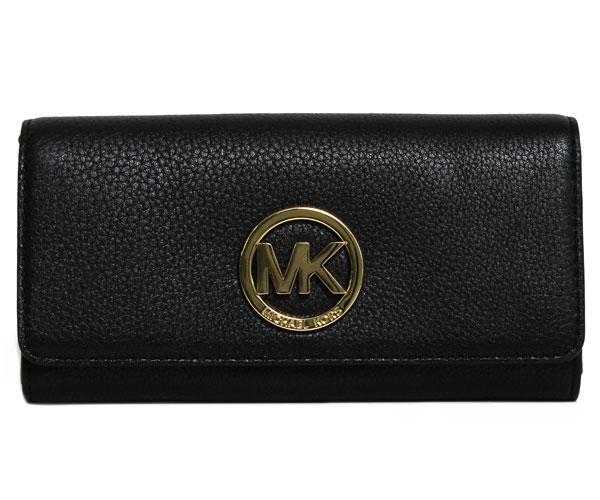 マイケルコース MICHAEL KORS 長財布 32F2GFTE3L 001 BLACK ブラック レディース 財布